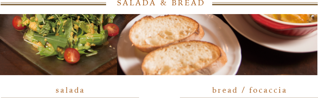 SALADA&BREAD